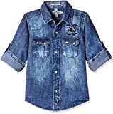#8: Palm Tree Baby Boys' Shirt (131246517093 6000_Stone Wash(6000)_9-12 months)