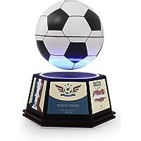 JOWHOL Magnetschwebefußball, rotierender schwebender Fußball mit personalisierter Fußballhobby-Design-LED-Basis, Heim…