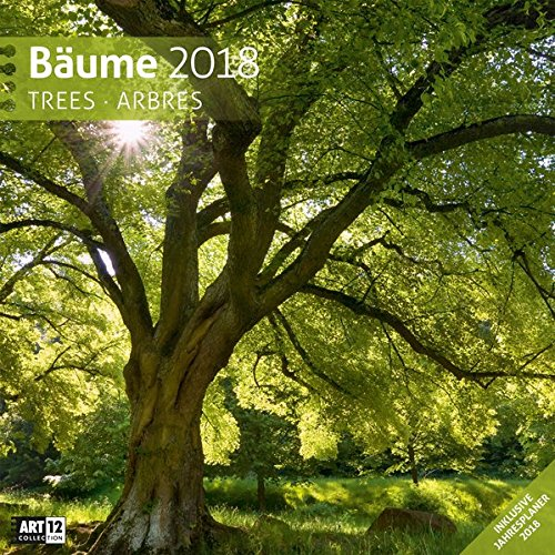 Bäume 2018 Art12 Collection: Broschürenkalender
