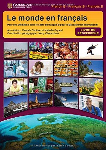 Le monde en français Teacher's Book (IB Diploma)