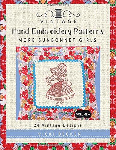Vintage Embroidery Patterns Sunbonnet Girls