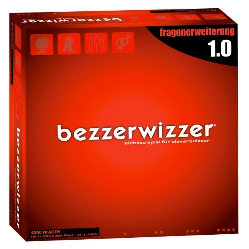 Mattel X3363 - Bezzerwizzer Fragenerweiterung 1.0 (2.000 komplett neue Fragen), Zubehör zum Brettspiel