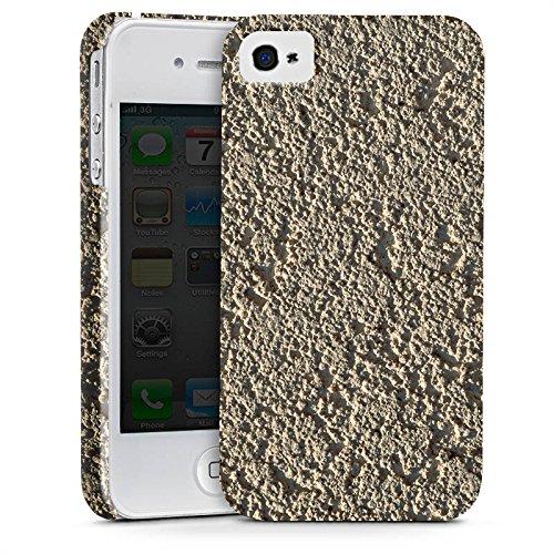Apple iPhone X Silikon Hülle Case Schutzhülle Beton Wand Muster Struktur Premium Case glänzend
