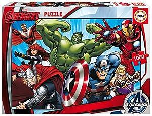 Puzzles Educa - Puzzle con diseño Los Vengadores, 1000 piezas (16332)