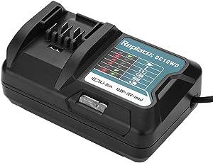 VBESTLIFE Lithium Batterie Ladegerät für 10,8V 12V Makita für DC10WD / DC10SB / DC10WC / BL1015 / BL1016 / BL1021B / BL1041B(EU)