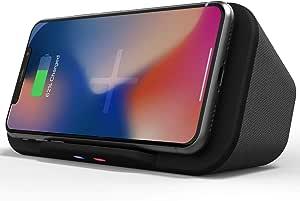 I Box Tragbarer Bluetooth Lautsprecher Dock Mit Kabellosem Qi