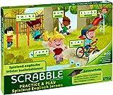 Mattel Games FTG51 Scrabble Practice und Play Spielend Englisch Lernen Wörterspiel, Kinderspiel geeignet für 2 – 4 Spieler, Spieldauer ca. 20 – 30 Minuten, ab 5 Jahren (Spielzeug)