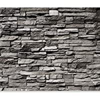 Murando   Fototapete Steinwand 400x280 Cm   Vlies Tapete   Moderne Wanddeko    Design Tapete