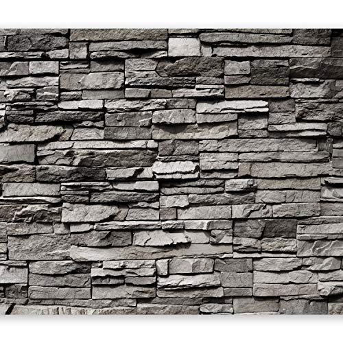 *murando – Fototapete Steinwand 400×280 cm – Vlies Tapete – Moderne Wanddeko – Design Tapete – Wandtapete – Wand Dekoration – Steintapete Steine Stein Mauer Steinoptik 3D f-B-0020-a-a*