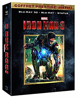 Iron Man 3 [Coffret prestige Iron Man 3 - Blu-ray + Blu-ray 3D + la statuette à monter - Édition exclusive Amazon.fr] (B00BUKQA62) | Amazon price tracker / tracking, Amazon price history charts, Amazon price watches, Amazon price drop alerts