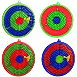Happy Target Dart Game (Multi Color, Small Size)