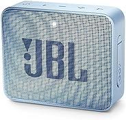 JBL GO 2 Portable Bluetooth Speaker, Ice Cube Cyan - JBLGO2CYAN