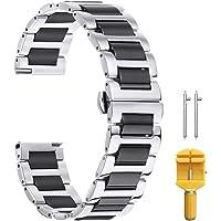Cinturino in metallo di fascia alta Orologio da polso in ceramica Sostituzione cinturino in acciaio inossidabile…