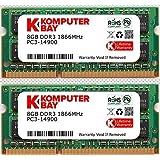 Komputerbay 16GB Dual Channel Kit 2x 8GB DDR3-1866 204pin SO-DIMM 1866 / 14900S (1.866 MHz, CL13) für Apple iMac 275K (Late 2015)