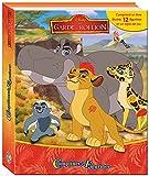 PHIDAL–La Garde des König Löwe Koffer Buch mit 12Figuren + Spielmatte, 9782764341841, Mehrfarbig