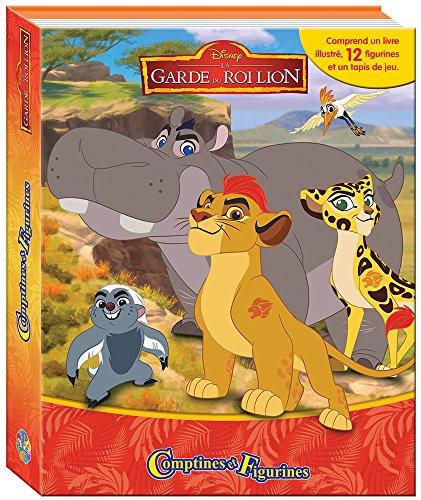 La Garde Du Roi Lion Comptines Et Figurines - Coffret Livre Avec 12 Figurines + Tapis De Jeu