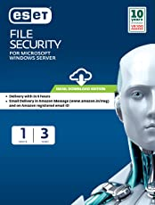 ESET File Security - 1 user, 3 years (Email Delivery in 2 hours- No CD)
