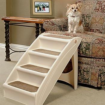 PetSafe - Escaliers pour animaux de compagnie pliables PetSafe Solvit PupStep Plus, 4 marches pour chien/chat