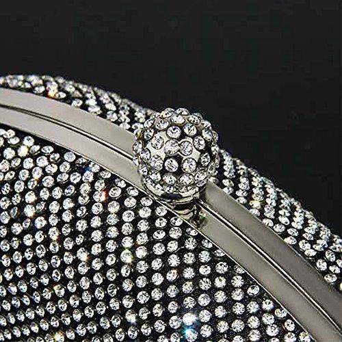 SSMK Evening Bag, Poschette giorno donna Silver