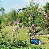 Gardman 1,9 x 1 m 1.9 x 1 m Garten Arch – Schwarz
