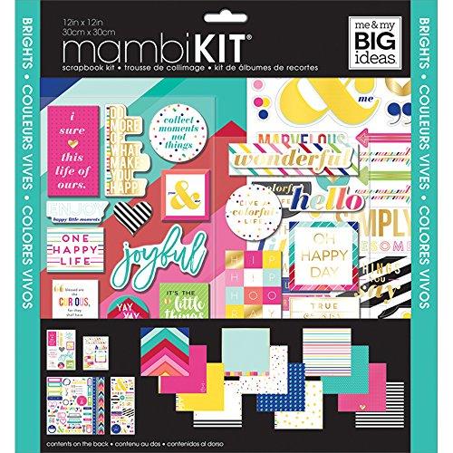 Me & My Big Ideas srk-163Scrapbook Page Kit/Aufkleber, multicolor -