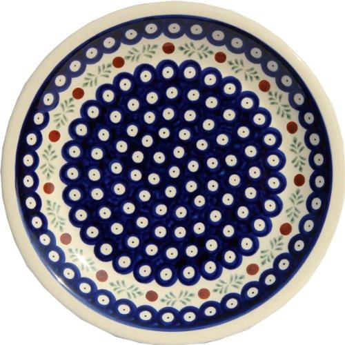 Polish Pottery Dinner Plate 9.5