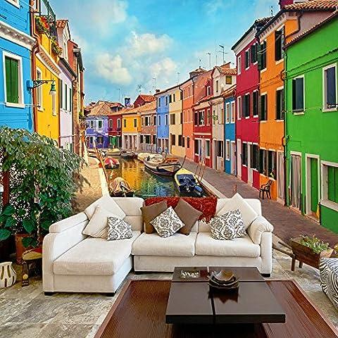 Fotomural 300x210 cm - Papel tejido-no tejido. Fotomurales - Papel pintado Arquitectura Venecia d-B-0027-a-a