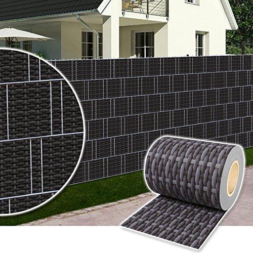Dazone® PVC Sichtschutzstreifen Zaunfolie Blickdicht inkl. 30