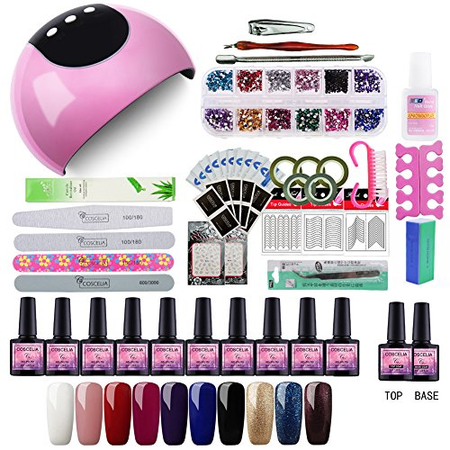 Saint-Acior Nail Dryer 24W LED Lámpara Secadora Uñas