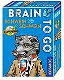 KOSMOS Spiele 690823 - Brain to go - Schwein oder nicht Schwein