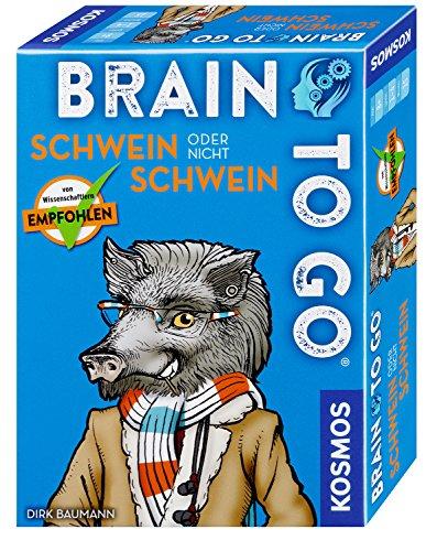 KOSMOS Spiele 690823 - Brain to go - Schwein oder nicht Schwein Outlets To Go