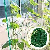 Snow Island 1,8x 1,8m Zaun Nylon Net Klettergerüst Garten-Net Pflanze Zaun Vogelschutznetz Gemüse Pflanze-Gitter Netz