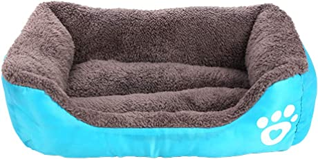 ZhuikunA Haustierbett für Katzen und Kleine Mittelgroße Hunde Weich Waschbar Hund Haustier Warme