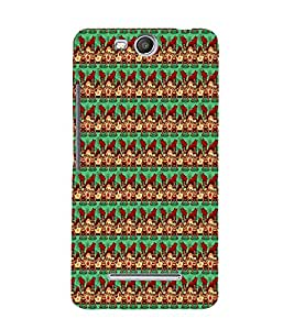 Duck Chicken Pattern 3D Hard Polycarbonate Designer Back Case Cover for MicromaxBoltQ338