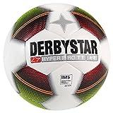 Derbystar 10er Ballpaket Hyper Pro TT Fußball Training Größe 5 weiß-rot-grün, Größe 5