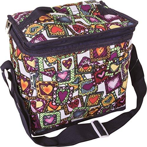 Bazoom borsa frigo termica da donna, perfetta per trasportare il vostro pranzo e la vostra merenda, capacità 8 litri, spessore 3mm vari colori (blu)