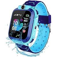 F-FISH Smart Watch Phone per Bambini IP67 Impermeabile,Orologio Smart Phone LBS Anti-perso con Chat Vocale, Sveglia SOS…