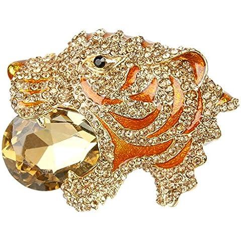 EVER FAITH???Gold-Tone di cristallo austriaci Art Deco