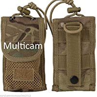MTP ARMY CADET PHONE CASE MULTICAM IPOD HOLDER WEBBING MILITARY FIELD WEBBING POUCH