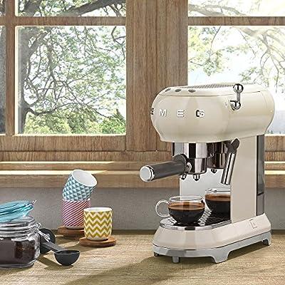 Smeg 146872Cafetera Eléctrica, ajustable kafeet Temperatura del Café con milschaufs Leche