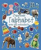 J'apprends l'alphabet avec des autocollants...