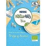 Nestlé Naturnes Bio - Papilla de cereales Trigo y Avena - Alimento Para bebés - 6x240g