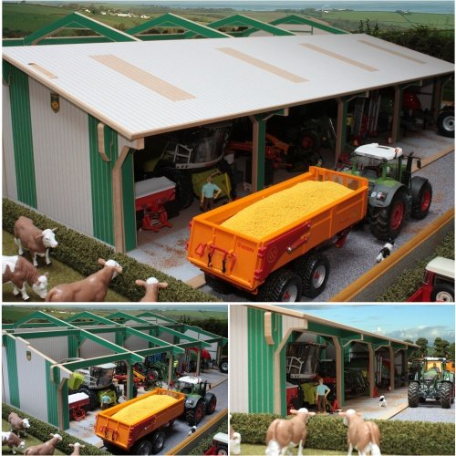 Brushwood EURO5 - Euro Tractor and Machinery Shed Extension