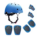 Kids Bike Adjustable Helmet Certified Sport Safety Cycling Skating Scooter Helmet Gifts For Boys And Girls Skate...
