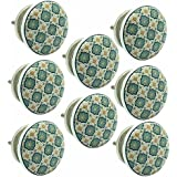 JP Hardware Ceramic Door Knob (Pack of 8)