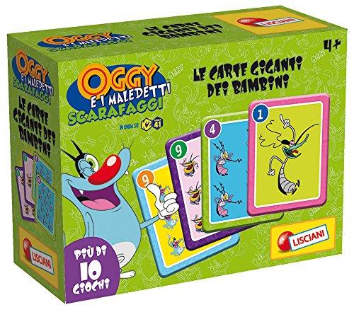 0-Motiv Oggy und die Kakerlaken, Karten Riesen, grün ()