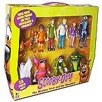 Grande divertimento da avere con questi dieci personaggi di equipaggio e misteri misteriali Include Scooby-Doo, Shaggy, Fred, Daphne, Velma, La bestia del lago senza fondo, l'uomo scheletrico, il fantasma di Redbeard, Wolfman e Ghost.
