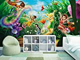 'Komar Papier peint photo'Fairies Meadow, 1pièce, multicolore, sd466