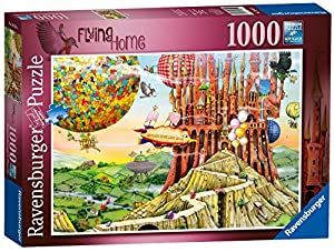 Ravensburger Colin Thompson - Flying Casa 1000 Jigsaw Puzzle