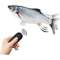 """10""""Pesce Giocattolo Gioco per Gatto,Giocattolo pesce gatto controllo wireless,batteria ricaricabile,riempito all interno…"""